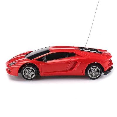 01:24 eléctrico RC Car Ferrari radio control remoto del vehículo del deporte del control Racing Hobby modelo de simulación de coches para adultos de los niños sin baterías: Juguetes y juegos