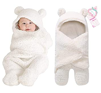 cf618e022391 Amazon.com  Newborn Baby Boy Girl Cute Cotton Plush Receiving ...