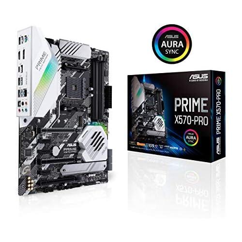 chollos oferta descuentos barato ASUS PRIME X570 PRO Placa base ATX AMD AM4 con PCIe Gen 4 dos M 2 HDMI SATA 6 Gb s y conector USB 3 2 Gen 2 en el panel frontal