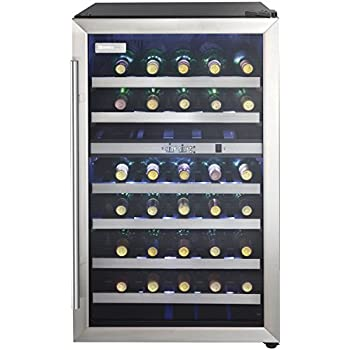 Amazon Com Danby Dwc113blsdb 38 Bottle Wine Cooler