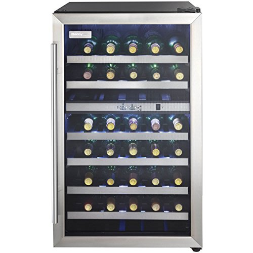 Danby DWC114BLSDD 38 Bottle Dual Zone Stainless
