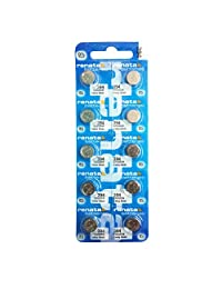 10 x Renata 394 Watch Batteries, 0% MERCURY equivilate SR936SW, 936, AG9, Plus Many More Battery Sizes Available