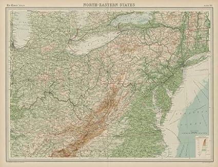 Amazon.com: Northeastern United States. Appalachians ...