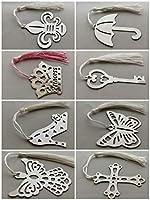 Metal Bookmark 8pcs