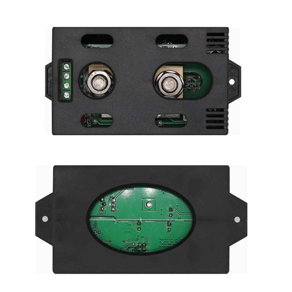 Bomcomi Tension de la Batterie sans Fil Compteur Courant continu 120V 100A Watt Capacit/é dalimentation LCD testeur num/érique avec Un c/âble USB