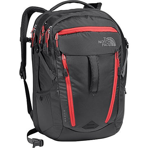 North Face Surge Backpack - Women's Graphite Grey/Cayenne...