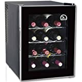 Igloo FRW1201 12-Bottle Wine Cooler, Black