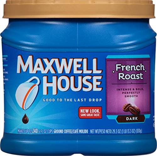 Maxwell House Coffee, French Roast, - Maxwell Coffee French House Roast