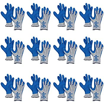 Atlas Showa Glove 300 Atlas Fit Super Grip Gloves Medium (12 Pair Pack)