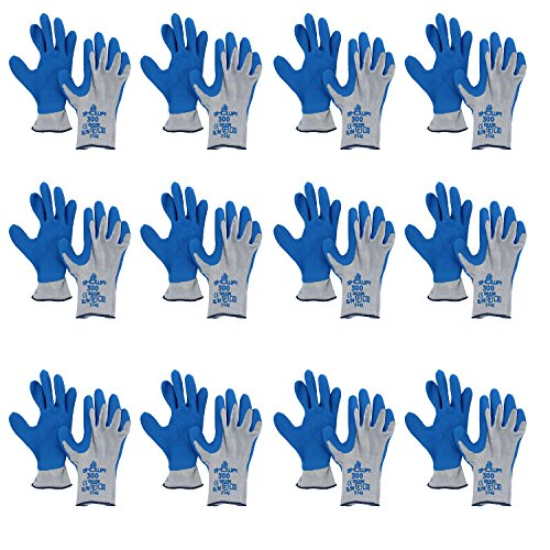 (Atlas Showa Glove 300 Atlas Fit Super Grip Gloves-Medium (12 Pair Pack))
