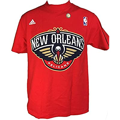 Cheap adidas-Player Anthony Davis Pelicans Alternate Logo Player T-Shirt - Red for sale