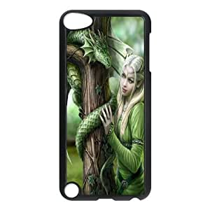 Wlicke Fairy DIY Durable Ipod touch 5 Case, Unique Design Protective Phone Case for Ipod touch 5 with Fairy