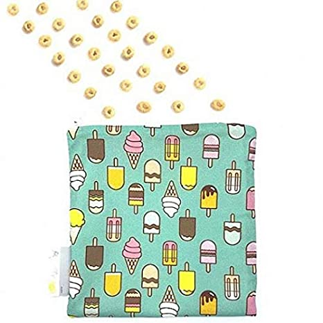 Anchor Down Itzy Ritzy Reusable Snack and Everything Bag