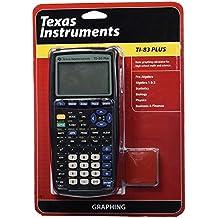 TEXAS INSTRUMENTS 83PL/TBL/1L1/A TI 83 Plus Graphics Calculator Plus Graphics Calculator 033317198658 83PL/TBL/1L1/A Texas Instruments