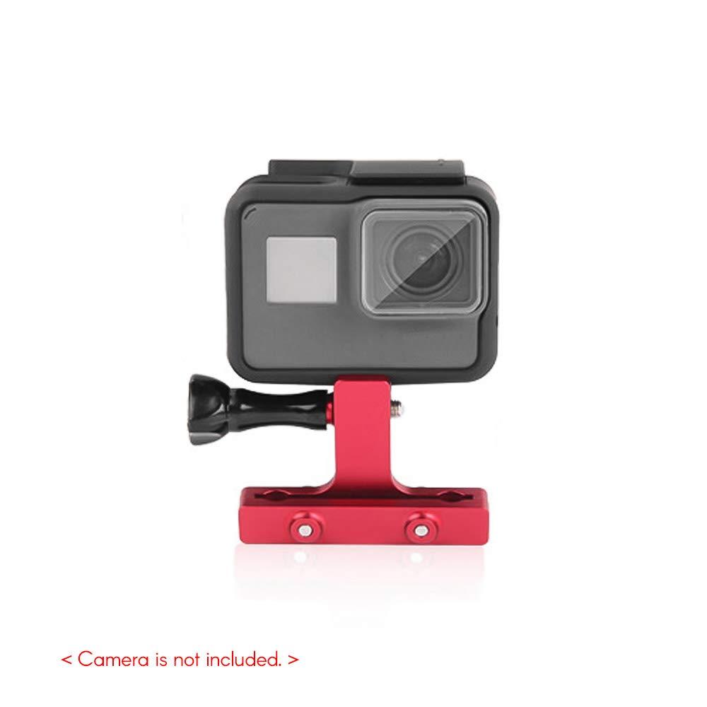 Docooler CNC Support de Rail de Selle de Vélo en Alliage d'Aluminium pour GoPro Hero 7/6/5/4 Hero (2018) pour SJCAM YI AKASO Campark Crosstour et Autres Caméras d'action