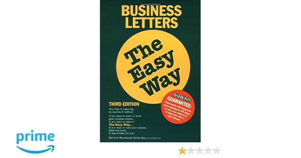 2. Sample Business Letter Template