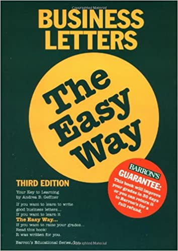 Business Letters the Easy Way