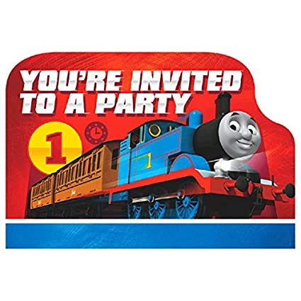 Amazon Com Amscan Thomas The Tank Engine Birthday Party Die Cut