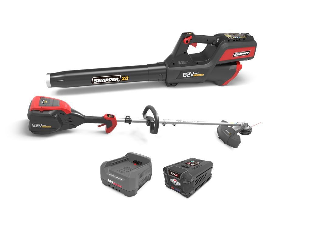 Snapper XD 82V MAX Electric Cordless Battery-Powered Clean Up Bundle, 1687885, SXDCUB