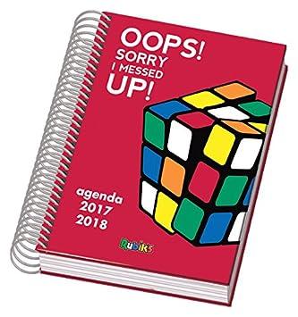 Dohe Rubik Color - Agenda escolar día página, A6, color rojo ...