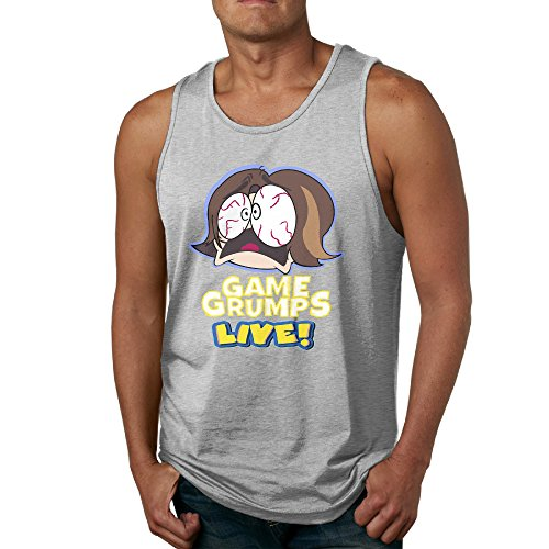Refire Game Grumps Live Men's Game Grumps Live Tank Top Gym T Shirt