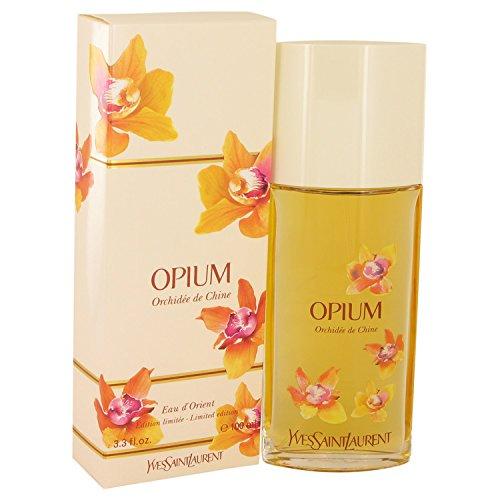 Opium Orchidee De Chine for Women by Yves Saint Laurent, Eau D'Orient Eau De Toilette Spray, 3.3 Ounces