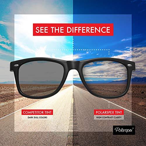 96f2118cee6ed Polarspex Polarized 80 s Retro Classic Trendy Stylish Sunglasses for Men  Women. Add To Cart