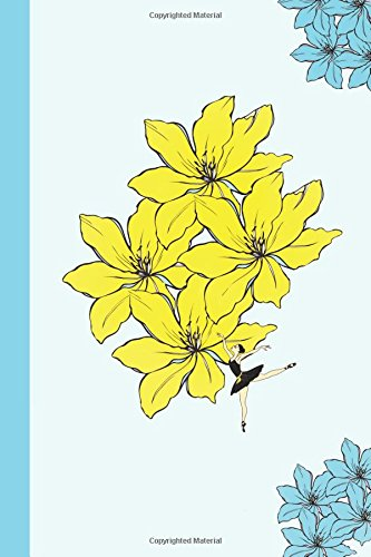Sketchbook: Fairies and Flowers (Yellow) 6x9 - BLANK JOURNAL NO LINES - unlined, unruled pages (Journals for Children Sketchbook Series)