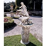 Design Toscano Resin Young Poseidon Sculptural Fountain