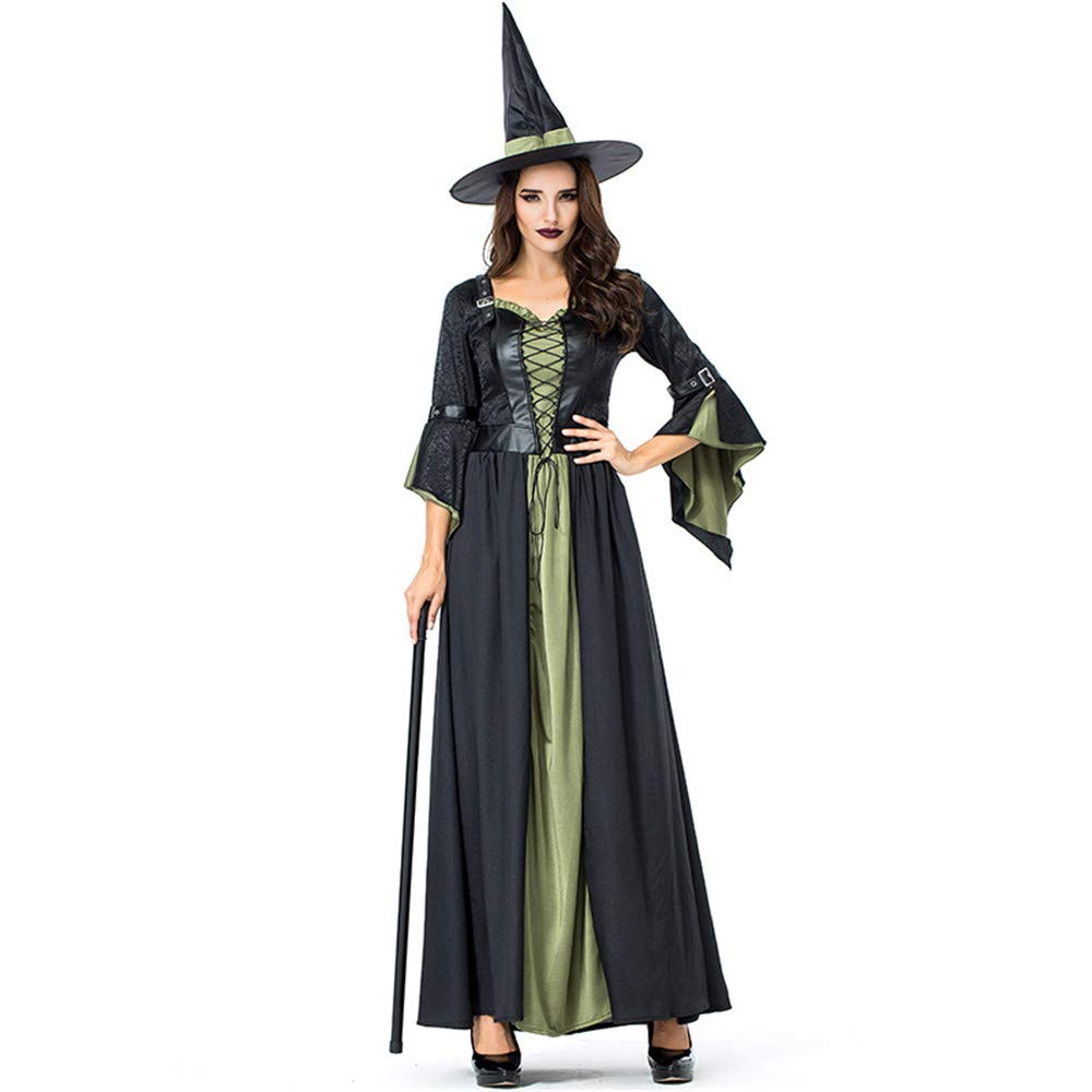 KTYX Halloween Evil Witch Costume Rave Party Cosplay Costume Halloween dresses
