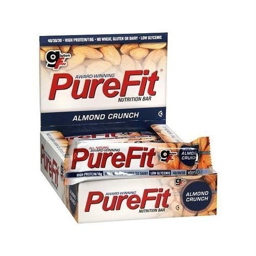 Pure Fit Bar Almond Crunch 2 oz. (Pack of 15) ( Value Bulk Multi-pack)