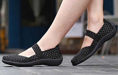 Mujer para Zapatillas Plata SH075 AIRAVATA 8PTqgn