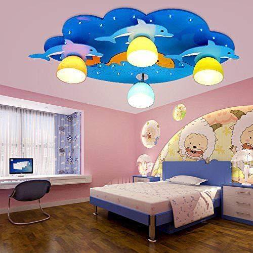 FidgetGear Animal Lighting Chandelier Kids Room Ceiling Lamp Children Pendant Light Fixture Pink Rainbow by FidgetGear (Image #5)