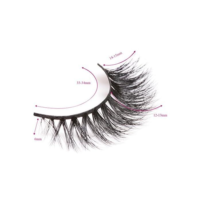e80c0e6b8aa Arimika Handmade Thick Wispy 3D Mink False Eyelashes For Makeup 1 Pair Pack  Style D11 - My Beauty Lashes