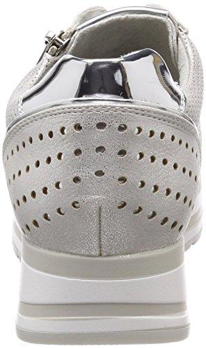 Tozzi 23717 Mujer Para Zapatillas silver Marco Plateado Comb 4aqBwa