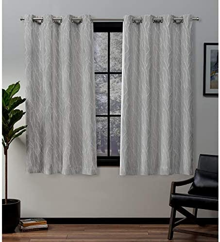 Exclusive Home Curtains Forest Hill Panel Pair