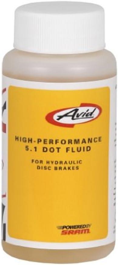 AVID Sram - Liquido Frenos Hidraulicos Pitstop Dot 5.1 4Oz: Amazon ...