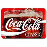 "Good_quality Custom Coca Cola Vintage Classic Doormat Rug Indoor/Outdoor Door Mats Home Decor 23.6""(L) x 15.7""(W) Non Slip"
