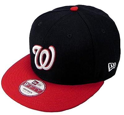 New Era Snapback MLB Washington Nationals Link 2tone Hat Cap Men 9fifty (S/M)