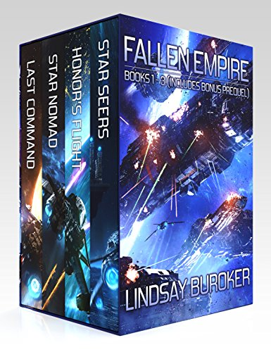 The Fallen Empire Omnibus (Books 1-3 and prequel) by [Buroker, Lindsay]