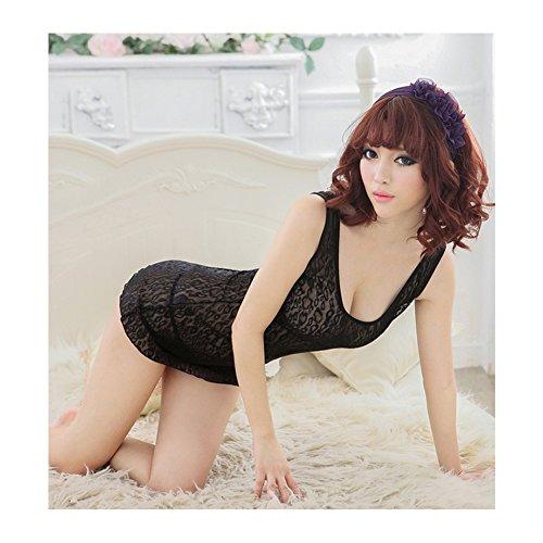 de Surker Lingerie Sexy Lady Lace Mesh v¨ºtements de nuit