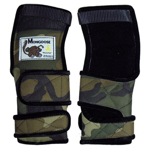 Mongoose Lifter Camouflage Wrist Support- Right Hand (X-large) by MONGOOSE PRODUCTS INC