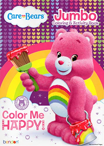American Greetings Care Bears Jumbo Coloring & Activity Book - Color Me Happy