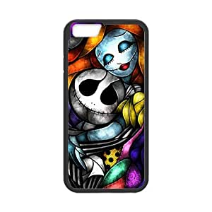 DIY Fashion The Nightmare Before Christmas High Quality Durable Hard Rubber Gel Silicon Case Cover for iPhone 6 4.7 inch