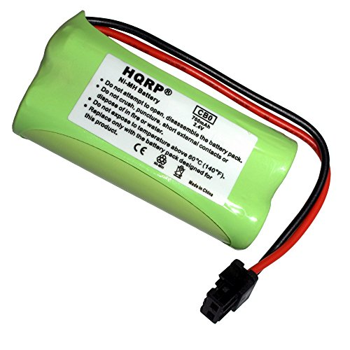 HQRP Cordless Phone Battery for DECT 2080-2W / DECT 2180 / DECT 2180-2 / DECT 2180-3 / DECT 2180-4 / DECT 2185 / DECT 2185-2 / DECT 2188 / DECT 2188-3 / DECT 3080-2 Replacement + HQRP (2w Dect Cordless Phone)