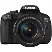 Canon DSLR Camera EOS Kiss X6i with EF-S 18-135mm IS STM Lens Kit - International Version (No Warranty)