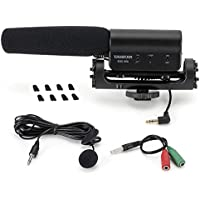 ATian SGC-598 Recording MIC Microphone for Nikon Canon Camera Camcorder Dslr