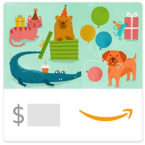Brthday party animals egift card link image