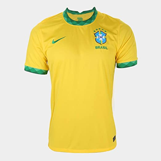 Camisa Seleção Brasil I 20/21 s/n° Torcedor