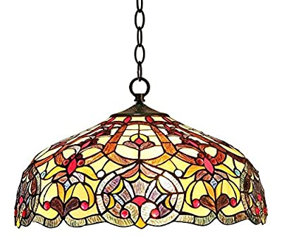 Sadie Victorian 2 Light Ceiling Pendant